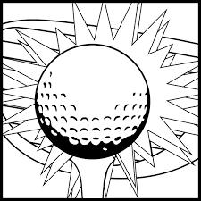 Coloriage Golf Les Beaux Dessins De Sport à Imprimer Et Colorier