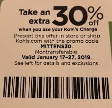 Kohls 30% OFF Coupon Code January 2019!... - Kohls 30 OFF ...