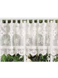 Kitchen Curtains Valances Patterns by Free Crochet Curtain Patterns Daisy Valance Crochet Tricks