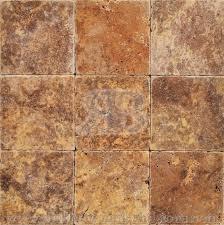 scabos travertine floor tile 4x4 tumbled travertine