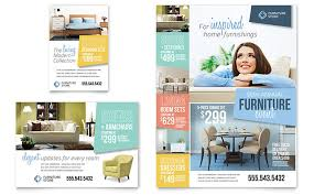 Home Furnishings Flyer Ad Template Design