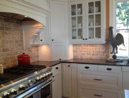 Small Idea Kitchen Backsplash Ideas For White Cabinets Black Countertops Neat Wall Wooden Shelf Decor Space Gloss Cabinet Illuminated