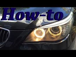 how to change day time lightbulb for 2008 bmw 535xi