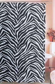 Pink Cheetah Print Bathroom Set by Jungle Safari Print Black Designer Flocked Zebra Print Fabric