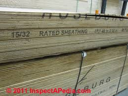 Types Of Roof Wall Floor Sheathing Materials