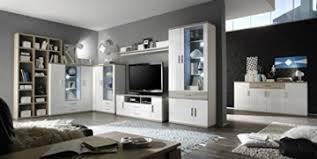 dreams4home wohnwand nera ii schrank vitrine schrankwand wohnelement wohnzimmer regalwand tv schrank in hochglanz weiß eiche sägerau nb