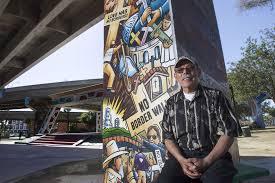 chicano park s new mural has fans detractors the san diego