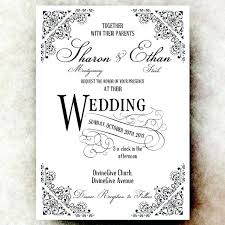 Etsy Wedding Invitation Template 3733 As Well Full Size Of Vintage Templates In