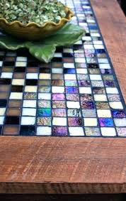 coffee table mosaic tile coffee table zoom west elm tiled mosaic
