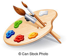 Painters Palette Clipart And Stock Illustrations 25660