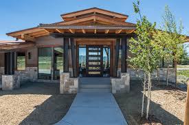 104 Contemporary Cedar Siding Park City Utah Modern Rustic Home Using A Mixture Of Natural Wood