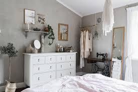 schlafzimmer im boho stil mit grauen bild kaufen