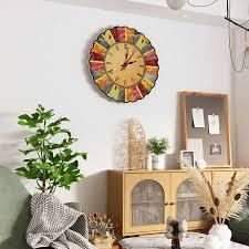 acryl stille wanduhr moderne design vintage rustikalen retro uhr wohnzimmer home office cafe dekoration kunst große wand uhr