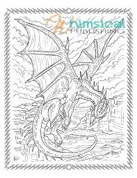 Awesome Challenging Dragon Coloring Pages Photos New Dragon4