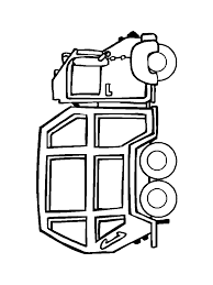 Garbage Truck Coloring Pages | Craft Ideas For Storytime ...