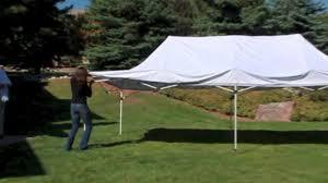 Undercover 10 x 20 Professional Grade Aluminum Instant Canopy