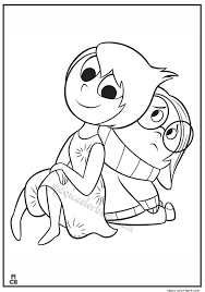 Inside Out Coloring Pages Free Printable 41