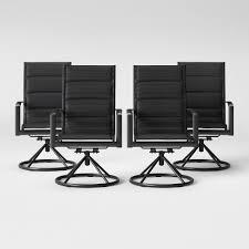Avalon 4pk Sling Swivel Rocker Patio Dining Chair Project 62
