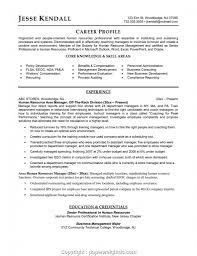 Hr Manager Resume Sample Regional Human Resources Samples ...
