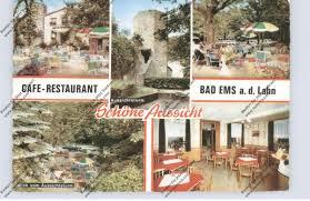 5427 bad ems cafe restaurant schöne aussicht nr 963864101