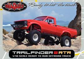 100 Rc 4wd Truck RC4WD Trail Finder 2 RTR WMojave II Body Set