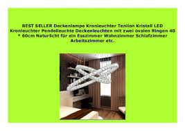 big sale deckenle kronleuchter tenlion kristall led