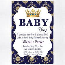 Cars Baby Boy Shower Invitation