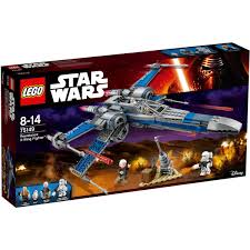 Lego X Wing Stand by Lego Star Wars Resistance X Wing Fighter 75149 Big W