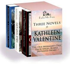 Three Novels The Old Mermaids Tale Each Angel Burns Depraved Heart Boxed