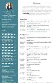 Security Officer Resume Samples Visualcv Database Rh Com Information Examples Manager