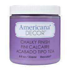 Americana Decor Creme Wax 8 Oz Clear by Americana Decor Chalky Finish Ultra Matte Paint By Decoart
