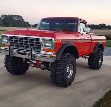 Badass Lifted 1978 Ford Dentside | Mud Trucks And Other Awesome 4x4 ...