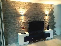 wandverkleidung wohnzimmer grau caseconrad