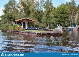 100 Lake Boat House Designs Recreation With Mooring For On The Bank Of The