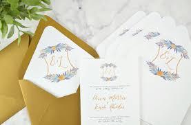 Custom Envelope Liners DIY Wedding Invitations