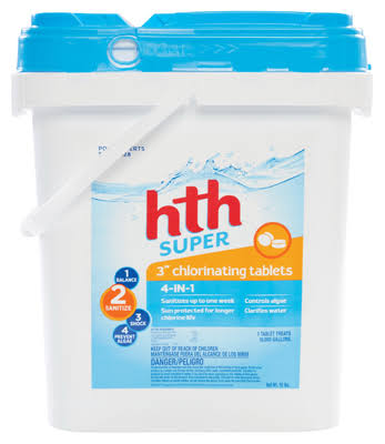 HTH Chlorinating Chemicals Tablet - 15lb