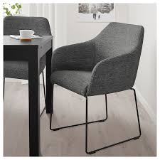 tossberg chair metal black gray ikea stuhl metall