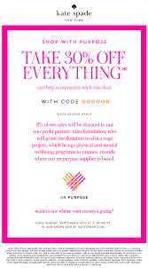 Kate Spade Coupons - 30% Off Everything At Kate Spade, Or ...