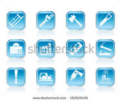 Woodworking Industry And Tools Icons