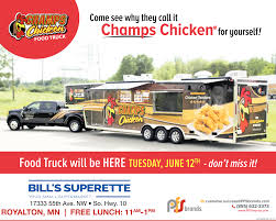Champs Chicken Food Truck Will Be Here , Bill's Superette, Oak Grove, MN Food Trucks In Saint Paul Mn Visit Truck Wraps Graphics Creative Color Minneapolis Minnesota Wednesday Mik Mart Ice Cream Youtube Asian Invasion Chef Shack At The Mill City Farmers Market In Twin City Sidewalks New Post Streetsmn Good Or Evil You Care What We Think Ra Macsammys St Funfare Food Truck Yelp On Twitter Were Here Anoka Heard Street Tpreneur Tees Up New Eatery Catering For All Its Worth Rochester