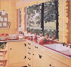 1955 Kitchen By Pittsburgh Glass American Vintage Home