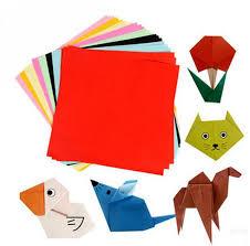 BOHS Children 10 Colours Multicolour Kindergarten Craft Diy Kirigami Paper Cutting Arts100 Pcs