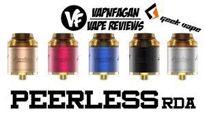 Peerless by Geekvape Peerless Rda Review U0026 Giveaway Vapnfagan Youtube