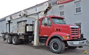 28t National 1100 Boom Truck Crane SOLD Trucks & Material Handlers ...