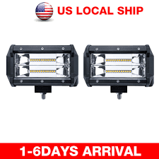 Off Road LED Light Bar | EBay 5inch 40w Led Work Light Bar For Truck Motorcycle Gd Traders Aries Automotive 50 Doublerow 26 Best Of Off Road Lights Home Idea 315 Inch 180w 4x4 Led Curved Tractor Offroad 4wd 72018 F250 F350 Nfab Offroad 30 W Amazoncom Senlips 52 Inch 300w Install Of Westin Bar And Hella 500ff 18watt Vehicle Torchstar Kohree 108w Cree Spotflood Rc Deluxe Package Kit Torch Series Grilles