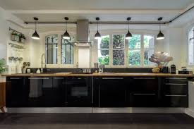 eclairage bar cuisine loft design contemporain cuisine par franck minieri