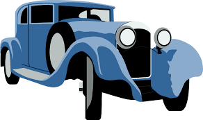 Classic Car Clipart Background 3