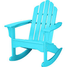 Hanover Outdoor All-weather Adirondack Rocking Chair, Blue ... Allweather Porch Rocker Personalized Childs Rocking Chair Seventh Avenue Shop Safavieh Shasta White Wash Grey Acacia Wood On Kentucky Wildcats Painted In Blue And Am Modernist Upholstery Dark Waffle Cushion Pad Set Glaze Pine Adirondack Trex Outdoor Fniture Recycled Plastic Yacht Club Chalk Paint Decor Ideas Design Newest 3 Wooden Chairs In Red And Color Stock Violet Upholstered Fuzziecouch