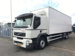 100 Truck Sleeper Cab VOLVO FE 280 Manual Gearbox Closed Box Trucks For Sale
