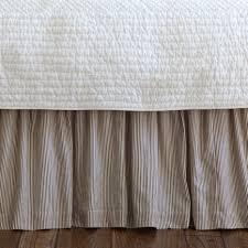 Taylor Linens Farmhouse Stripe Bed Skirt Ships FREE